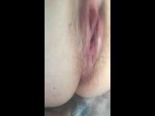 Large Black Cock Makes Her Tight Pussy Cum