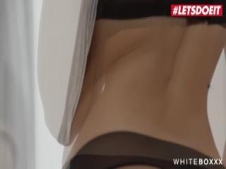 Mya has her bubbly tits creamed