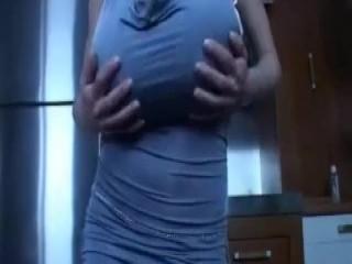 Plastic wife sucking dick