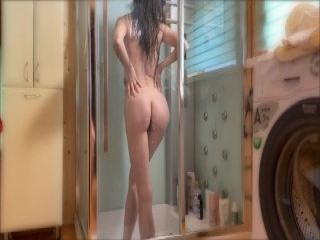 Fetish slut booty dildo