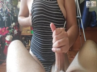 Cuties fuck dudes ass hole with massive strapons and blast j