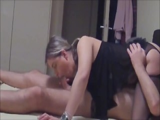 Sexy Wife Takes BBC While Hubby Films