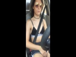 Whore rides cock in 3way