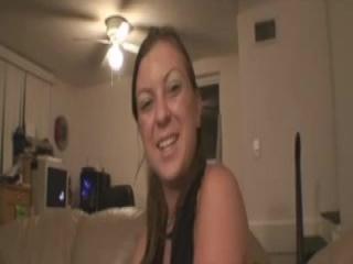 Busty Brazilian Chick Does A Striptease