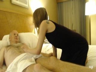 Big booty fatty takes doggy-banging after massage