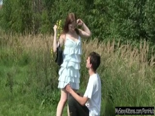 Miss18Live - little brunette sucks and gets fucked