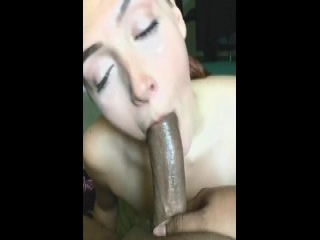 Pov inked whore juggs cum