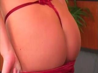 Big tits get sprayed with hot jizz