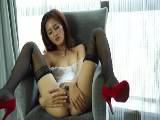 Three hot sluts have fun with toys